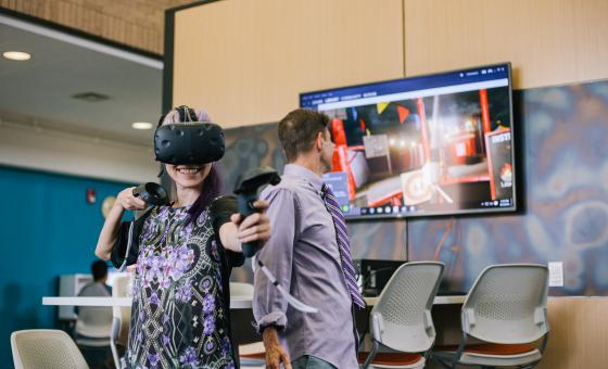 Virtual reality at the Foundry