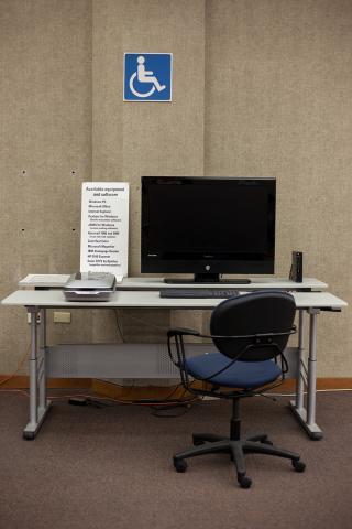 Assistive Technology Workstation