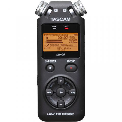 Tascam DR 05 portable digital recorder