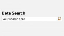 beta search box