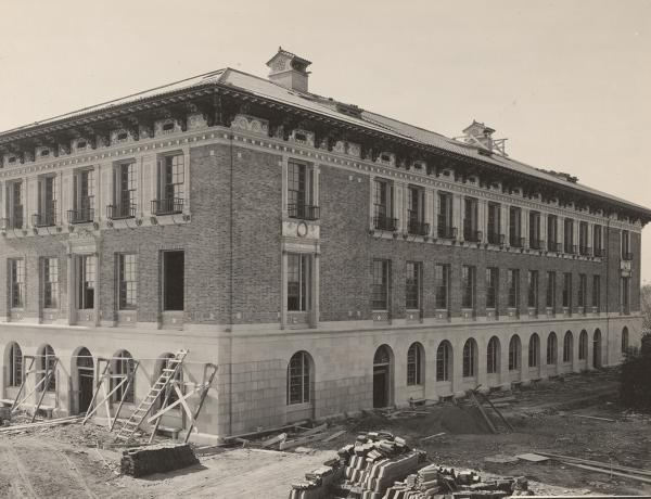Historic photo of Sutton Hall