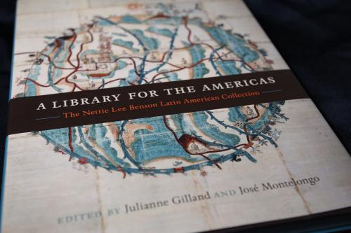 """""""A Library for the Americas"""" book."""