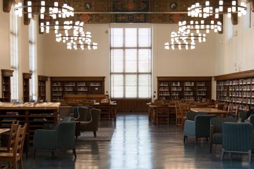Hall of Texas in the Life Science Library