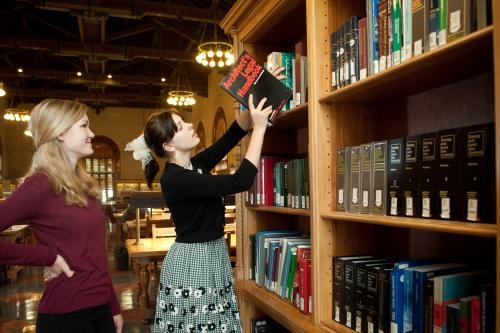 Looking for a book at the Architecture and Planning Library