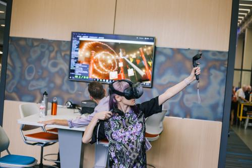 VR at the Foundry