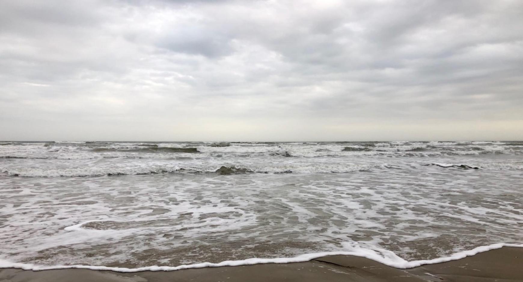 The beach at Port Aransas.