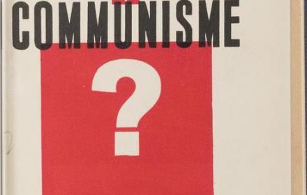 Ou Va Le Communisme?