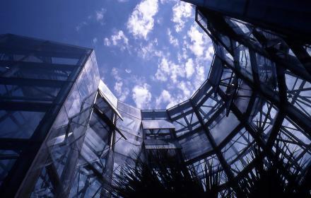 Lucile Halsell Conservatory Palm House  San Antonio/ Emilio Ambasz, architect, undated