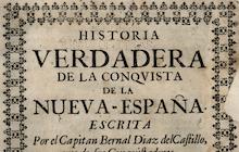 archival page that reads historia verdastra de la conquista de la nueva espana