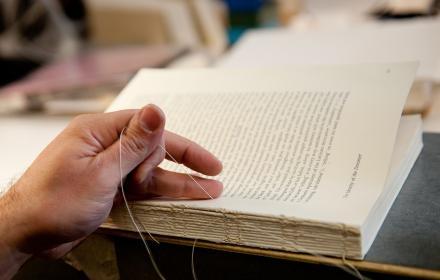Book binding repair