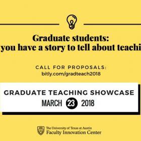 Graduate Teaching Showcase