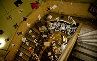 Architecture Library staircase
